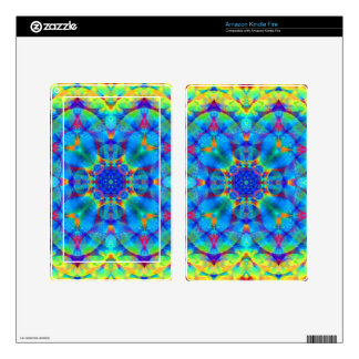 Kaleidoscope Design FF10 Decal For Kindle Fire