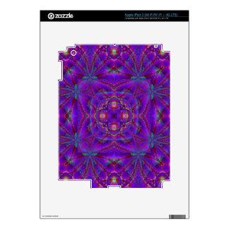 Kaleidoscope Design FF11 Decals For iPad 3