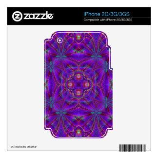 Kaleidoscope Design FF11 iPhone 2G Decals