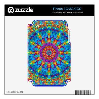Kaleidoscope Design FF2 iPhone 3G Skins