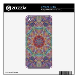 Kaleidoscope Design FK4 Decals For iPhone 4S
