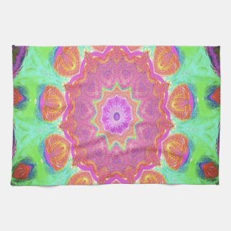 kaleidoscope design image by Carole Tomlinson Towel