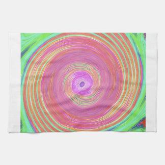 kaleidoscope design image by Carole Tomlinson Towels