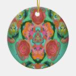 kaleidoscope design image christmas ornament