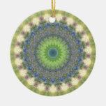 Kaleidoscope design image christmas ornaments