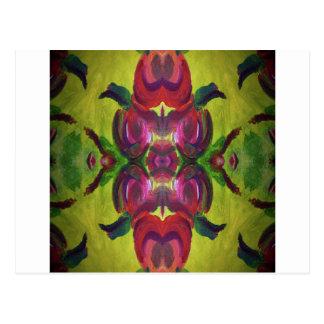 kaleidoscope design image post card
