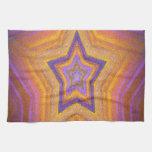 Kaleidoscope design image towel