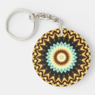 Kaleidoscope Design Keychain
