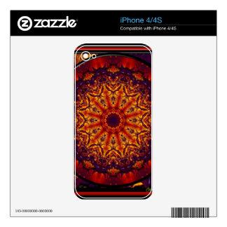 Kaleidoscope Design KF5 Decals For iPhone 4S