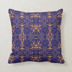 Kaleidoscope Design No 1062 Throw Pillow