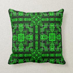 Kaleidoscope Design No 1064 Throw Pillow