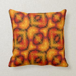 Kaleidoscope Design No 1077 Throw Pillow