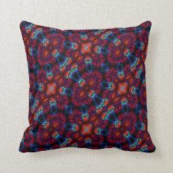 Kaleidoscope Design No 1169 Throw Pillow