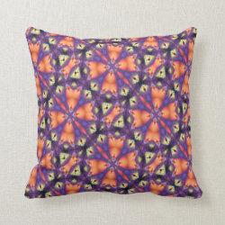 Kaleidoscope Design No 1173 Throw Pillow