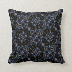 Kaleidoscope Design No 1174 Throw Pillow