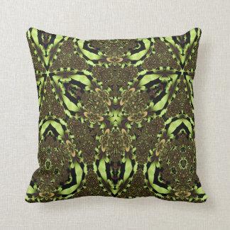 Kaleidoscope Design No 1178 Throw Pillows
