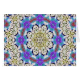 Kaleidoscope Design No.1211 Card