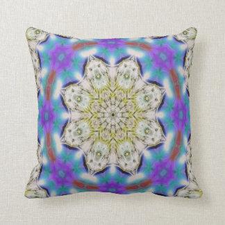 Kaleidoscope Design No 1211 Throw Pillow