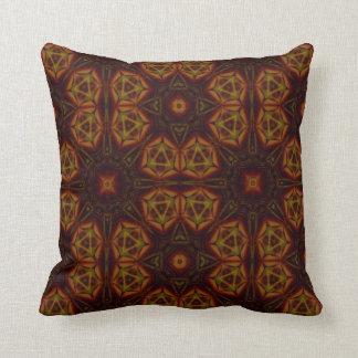 Kaleidoscope Design No 1224 Throw Pillow