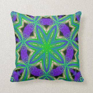 Kaleidoscope Design No 1228 Throw Pillow