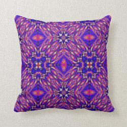 Kaleidoscope Design No 1232 Throw Pillow