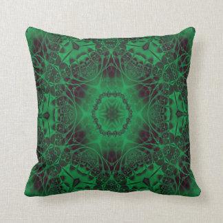 Kaleidoscope Design No 1234 Throw Pillow