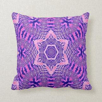 Kaleidoscope Design No 1236 Throw Pillows