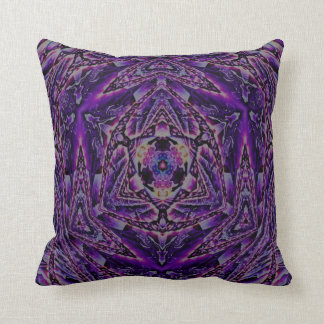 Kaleidoscope Design No 1238 Throw Pillows