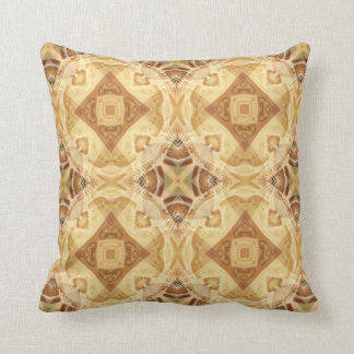 Kaleidoscope Design No 1253 Throw Pillow