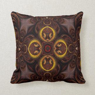 Kaleidoscope Design No 1264 Throw Pillow