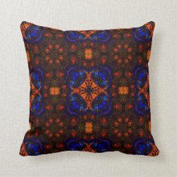 Kaleidoscope Design No 1269 Throw Pillow