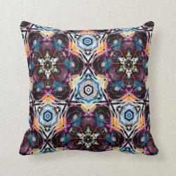 Kaleidoscope Design No 1274 Throw Pillow