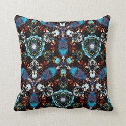 Kaleidoscope Design No 1275 Throw Pillow