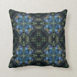 Kaleidoscope Design No 1283 Throw Pillow