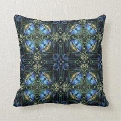 Kaleidoscope Design No 1284 Throw Pillow