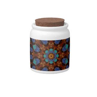 Kaleidoscope Design No.6 Candy Jar