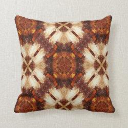 Kaleidoscope Design No 711 Throw Pillow