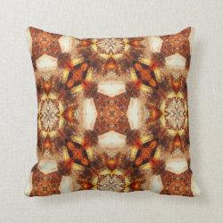 Kaleidoscope Design No 712 Throw Pillow