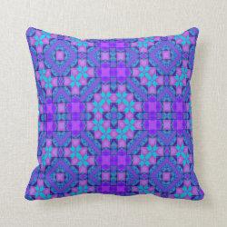 Kaleidoscope Design No 733 Throw Pillow