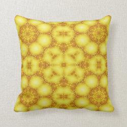 Kaleidoscope Design No 751 Throw Pillow