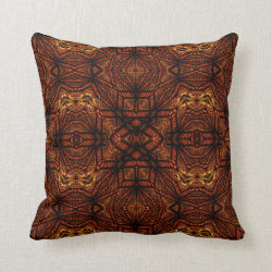 Kaleidoscope Design No 753 Throw Pillow