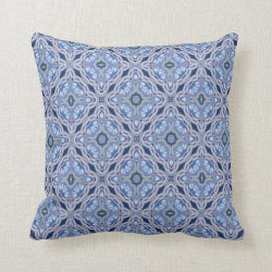 Kaleidoscope Design No 781 Throw Pillow