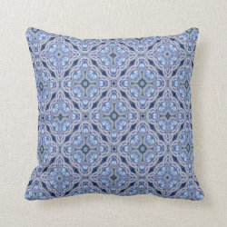 Kaleidoscope Design No 782 Throw Pillow