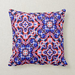 Kaleidoscope Design No 826 Throw Pillow