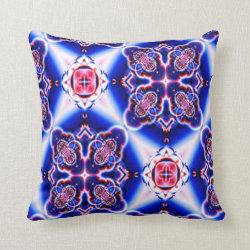 Kaleidoscope Design No 830 Throw Pillow