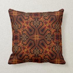 Kaleidoscope Design No 861 Throw Pillow