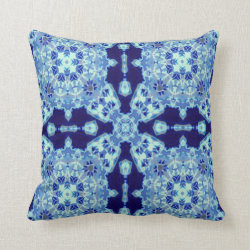 Kaleidoscope Design No 943 Throw Pillow