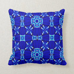 Kaleidoscope Design No 958 Throw Pillow