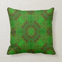 Kaleidoscope Design No 977 Throw Pillow