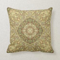 Kaleidoscope Design No.AS11 Throw Pillow